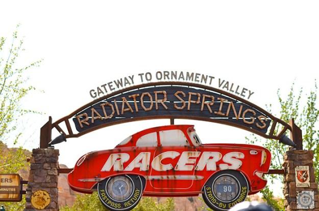 Radiator Springs CA Adventure // Nattie on the Road