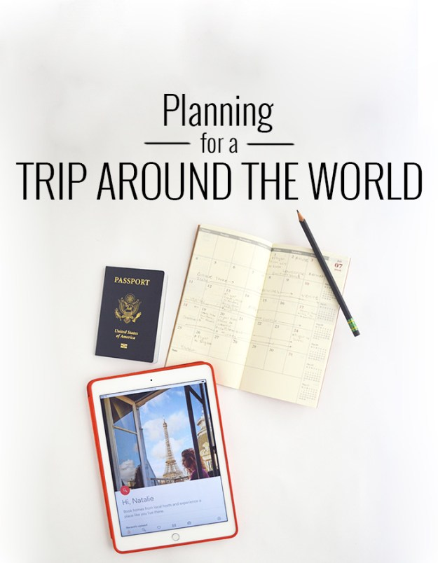 Planning for a Trip Around the World // Nattie on the Road