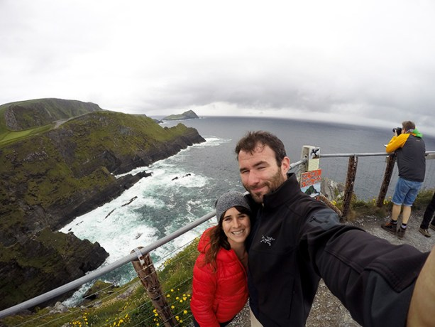 Explore Ireland's west coast, Cliffs of Kerry // Nattie on the Road