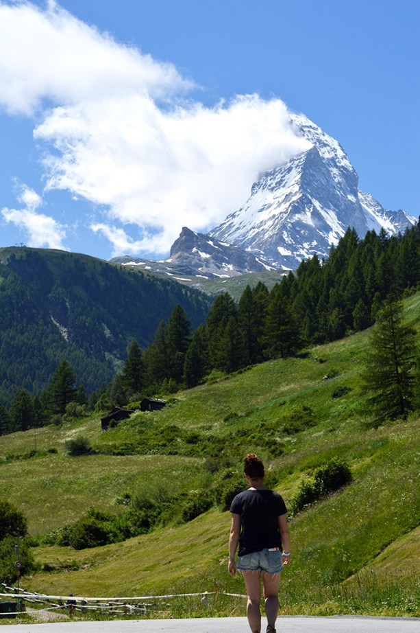 Take a day trip to see the Matterhorn in Switzerland // Nattie on the Road