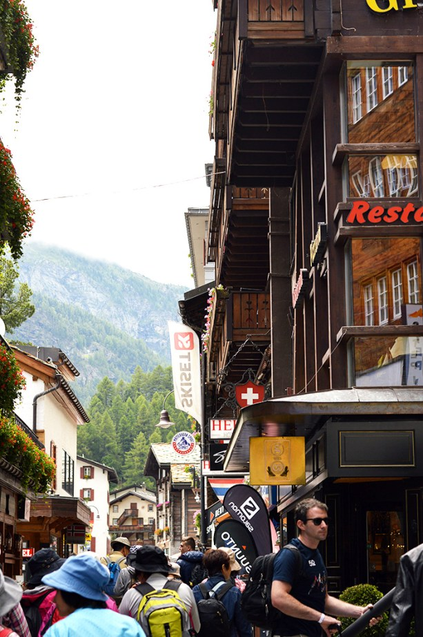 Town of Zermatt Switzerland is so cute! // Nattie on the Road
