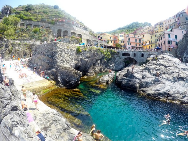 Hike Cinque Terre, and swim Cinque Terre! // Nattie on the Road