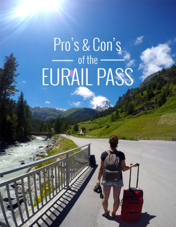 Pros and cons of the Eurail Pass // Nattie on the Road