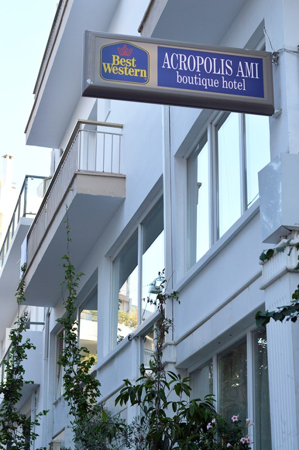 Where to stay in Athens // Nattie on the Road