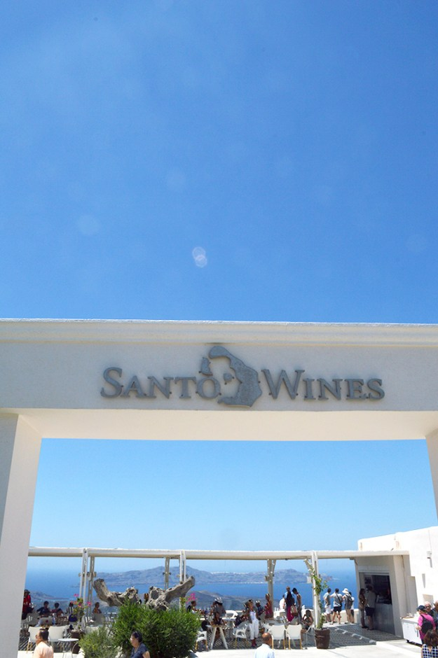 Santo Wines Winery - Santorini // Nattie on the Road