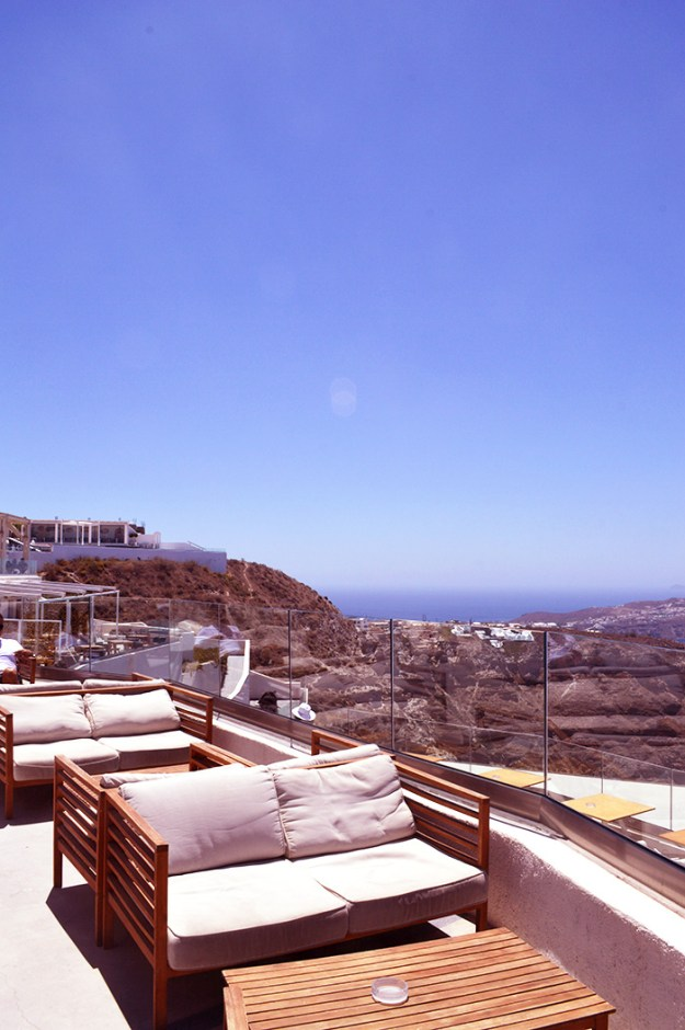 The perfect cliff side winery in Santorini // Nattie on the Road