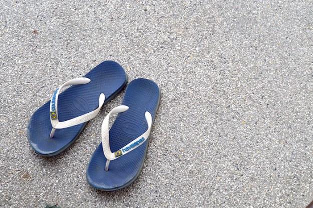 flip flops // Nattie on the Road