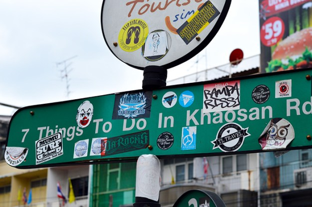 Check out the Khaosan Road in Bangkok // Nattie on the Road