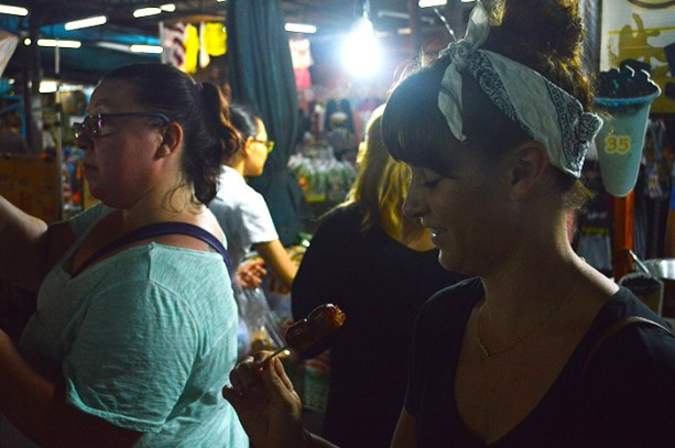 Try street food in Bangkok // Nattie on the Road