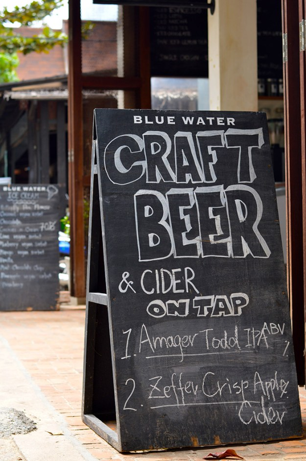 craft beer and good coffee on Koh Tao // Nattie on the Road