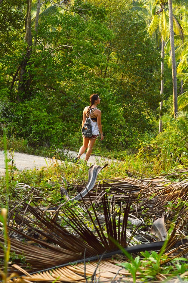 hiking through the jungle // Nattie on the Road