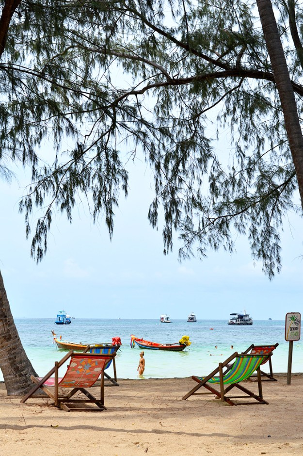 relax on Koh Tao