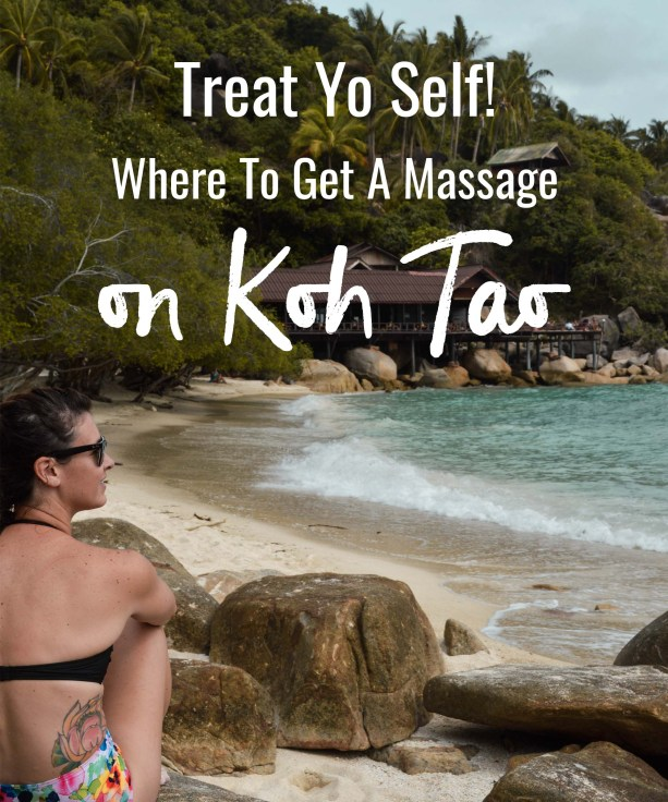 Where to get a massage on Koh Tao