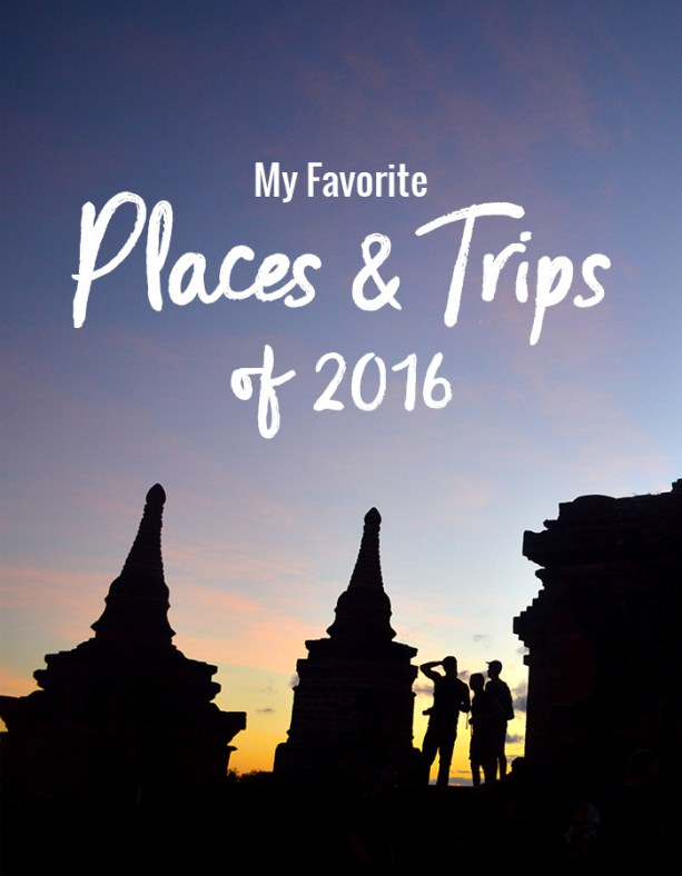 Favorite places of 2016