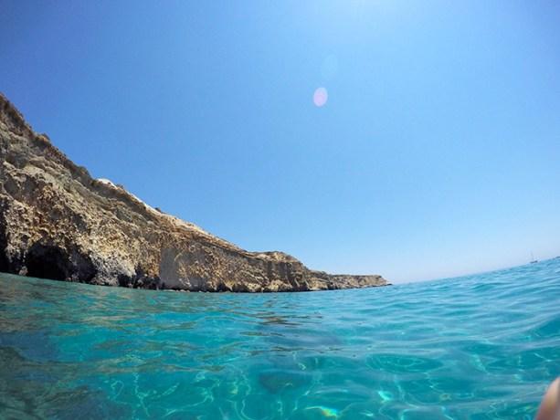 Beaches of Milos Greece