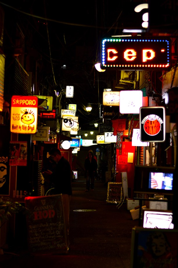 Alleys of Tokyo, Japan
