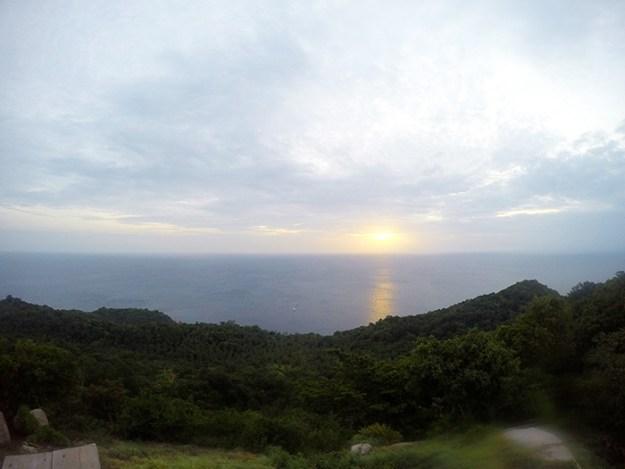 sun rise over Koh Tao