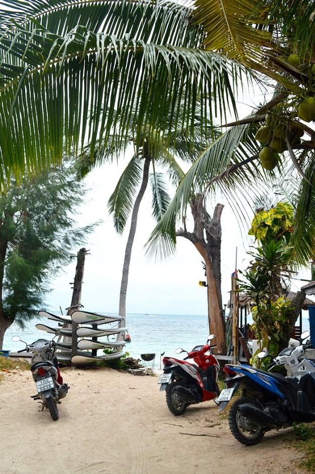 beach views Koh Tao Thailand