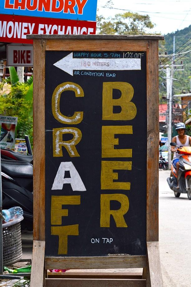 Beer Masons - Koh Tao Thailand
