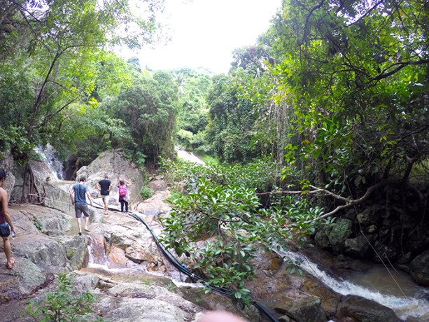 Hiking the Na Muang Waterfalls