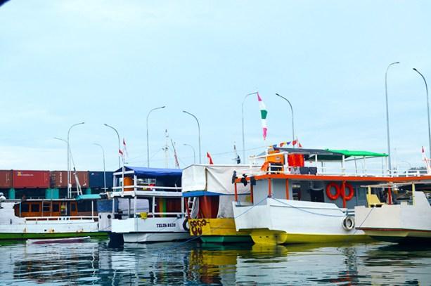 Indonesian Boats