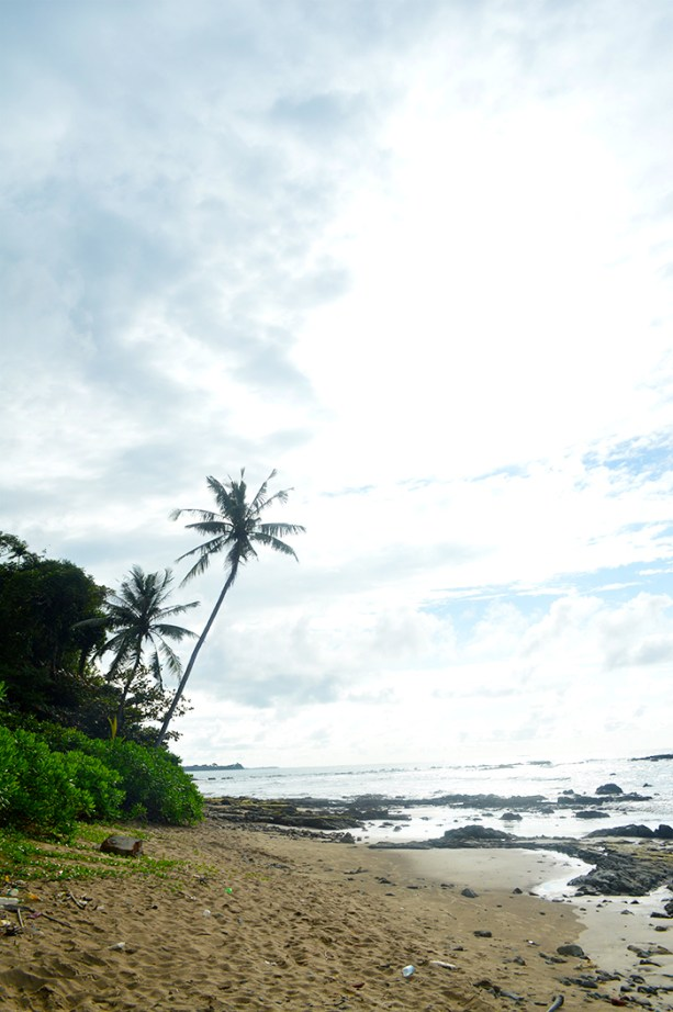 a tropical beach paradise in Myanmar