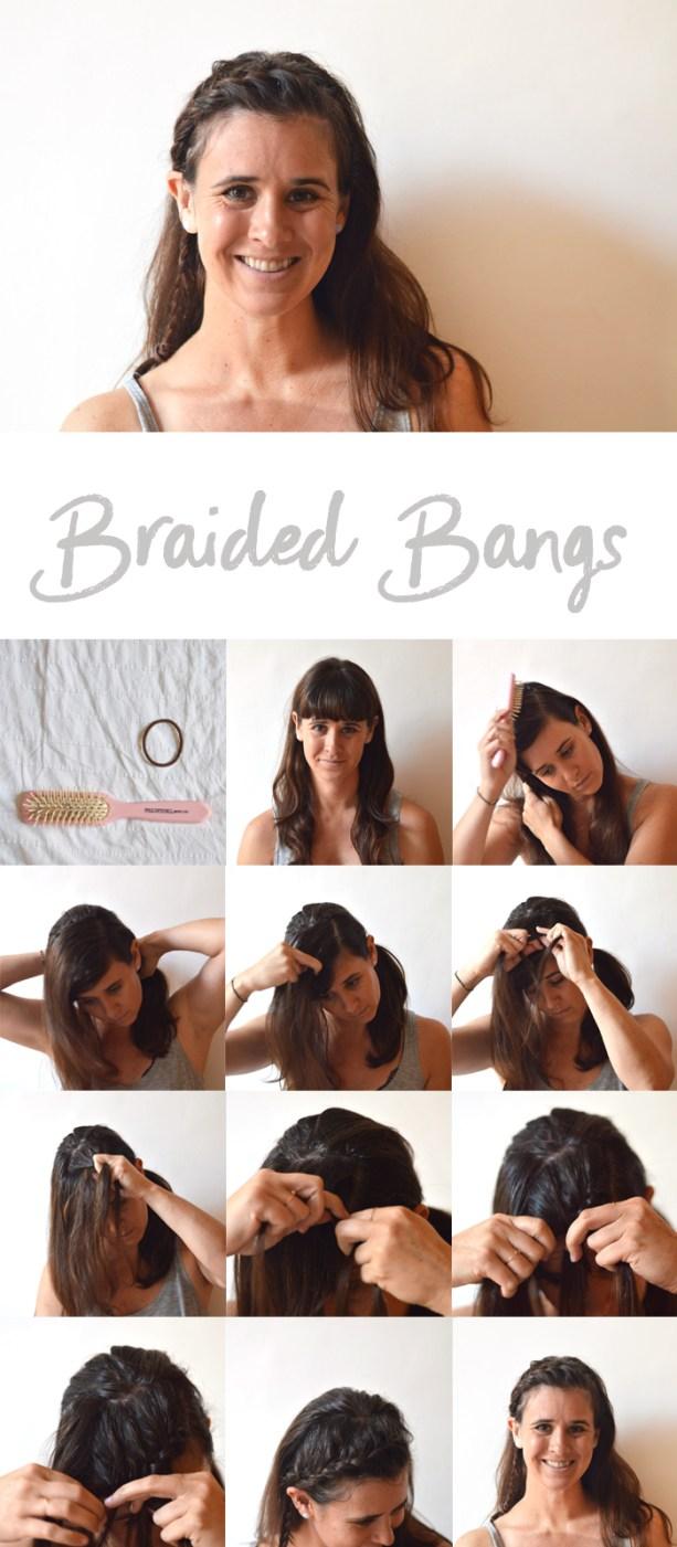 braided bangs tutorial
