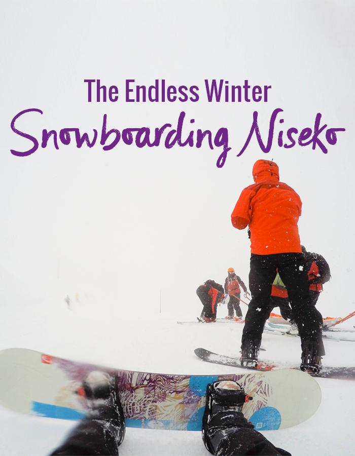 The Endless Winter: Snowboarding In Niseko Japan