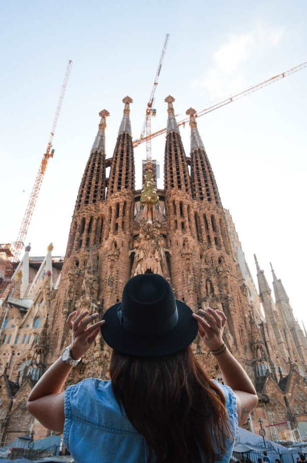 La Sagrada Familia, Barcelona Spain