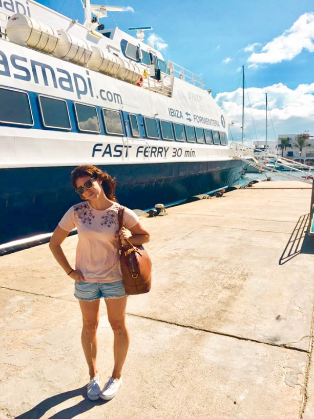 fast ferry in Spain
