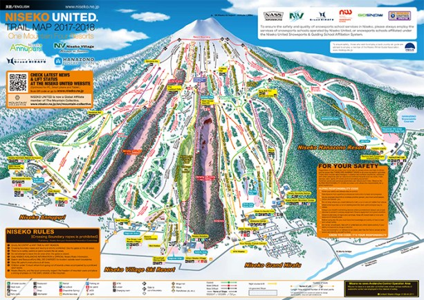 Niseko Trail Map