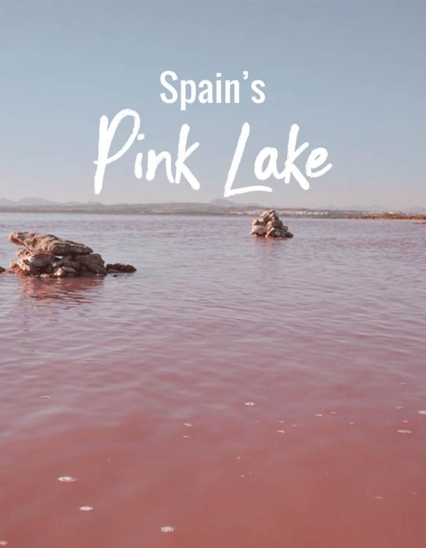 Spain's Pink Lake