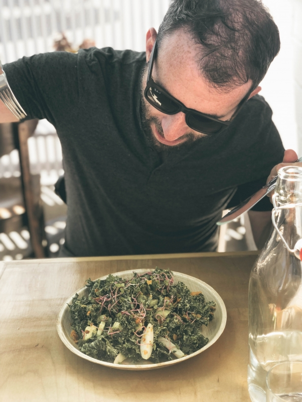 Kale Salad at Jewel LA