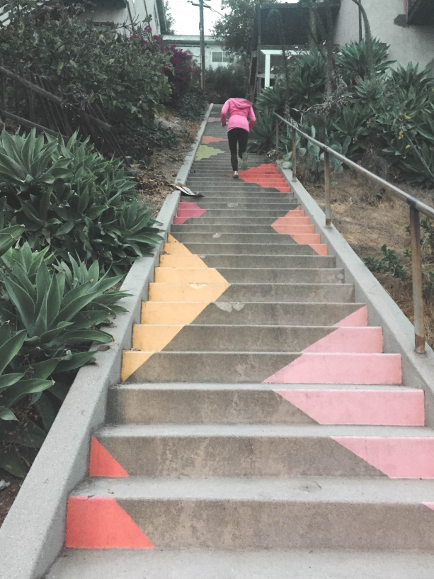 Stairs in Silver Lake LA