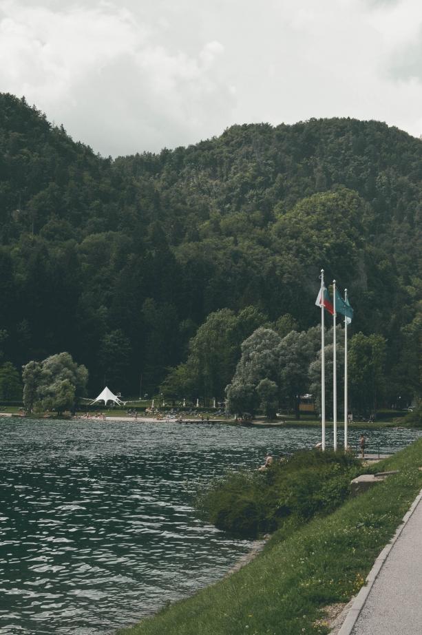 Path around Lake Bled