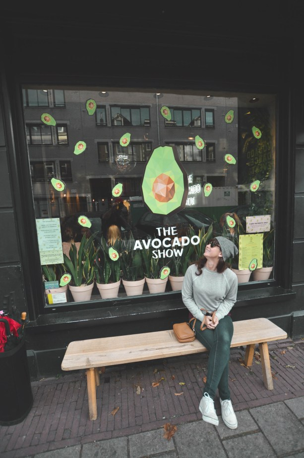 Hipster in Amsterdam