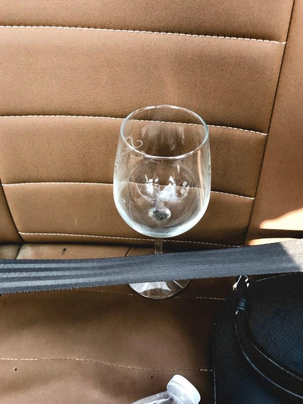 wine glass safety