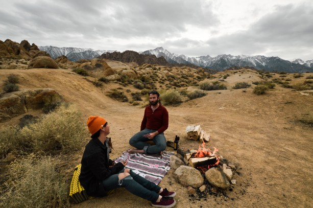 Dispersed Camping in Alabama Hills