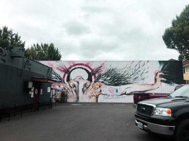 Street Art in Southeast Portland