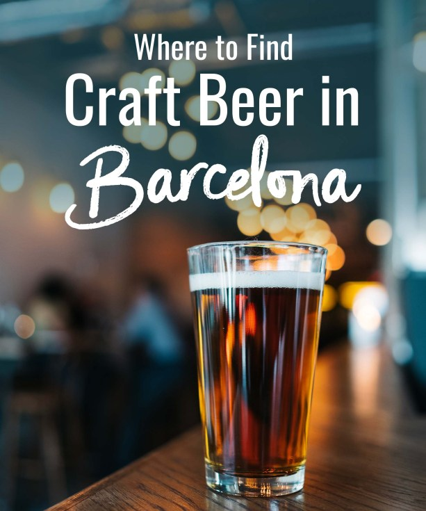 Where to find Craft Beer in Barcelona
