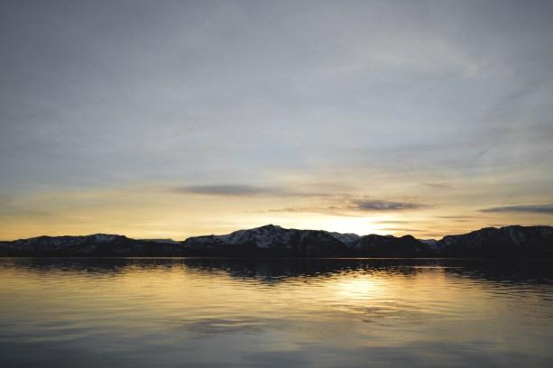 Lake sunsets