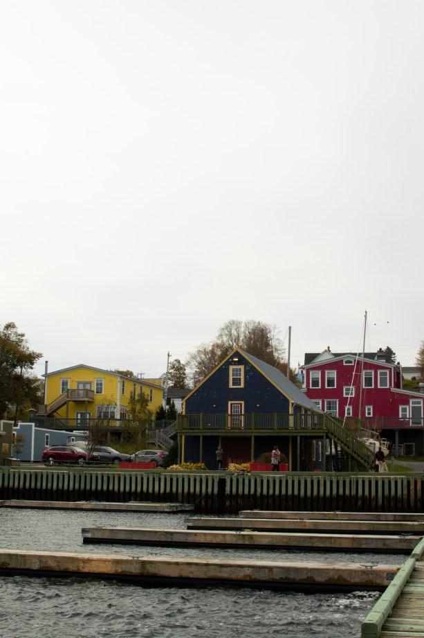 colorful maritime buildings