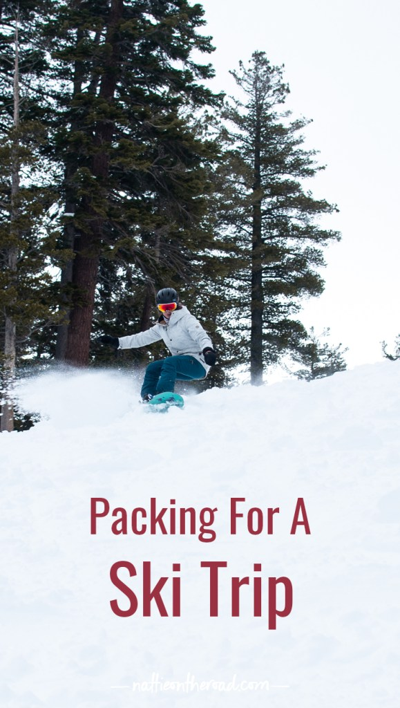 Packing for a Ski Trip