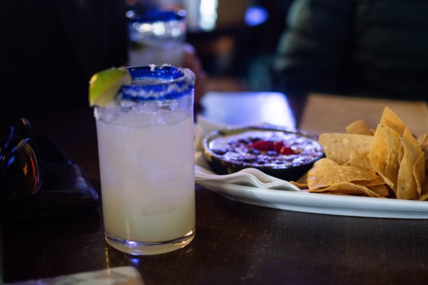 margs and appies at Azul