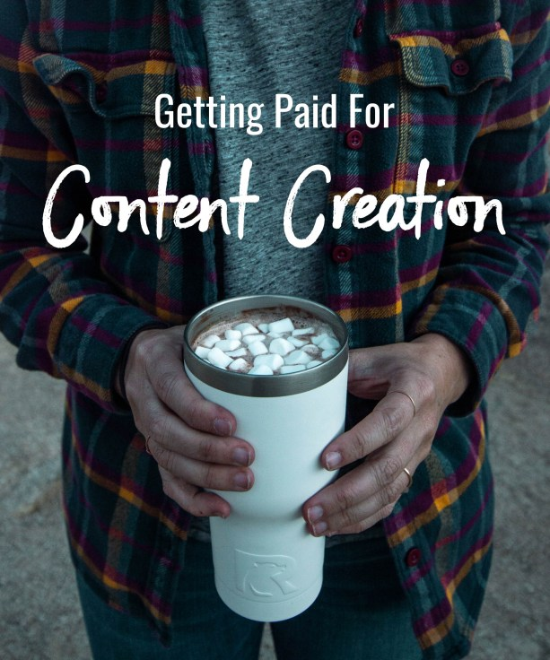 Getting Paid For Content Creation