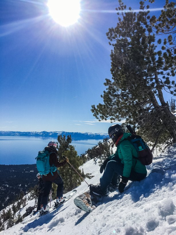 Working as a group in the backcountry