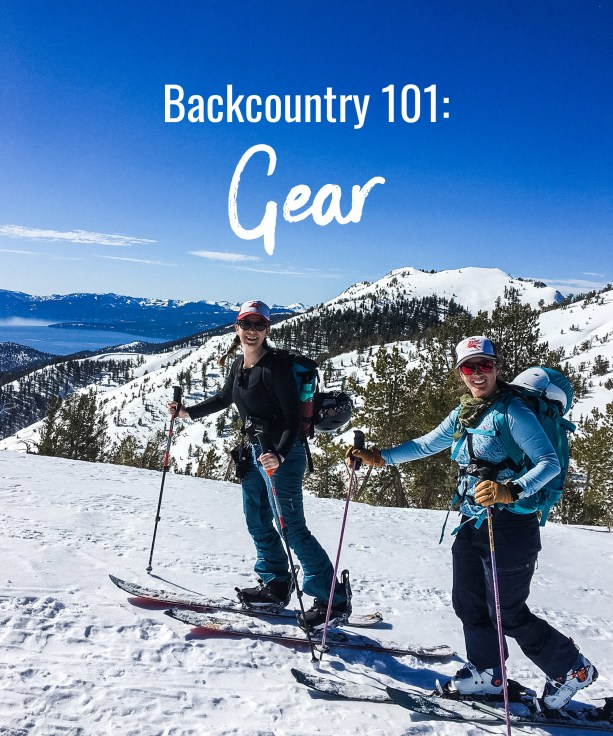 Backcountry 101: Gear