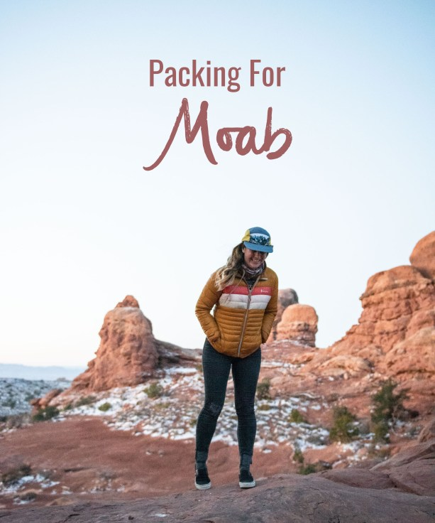 Packing for Moab