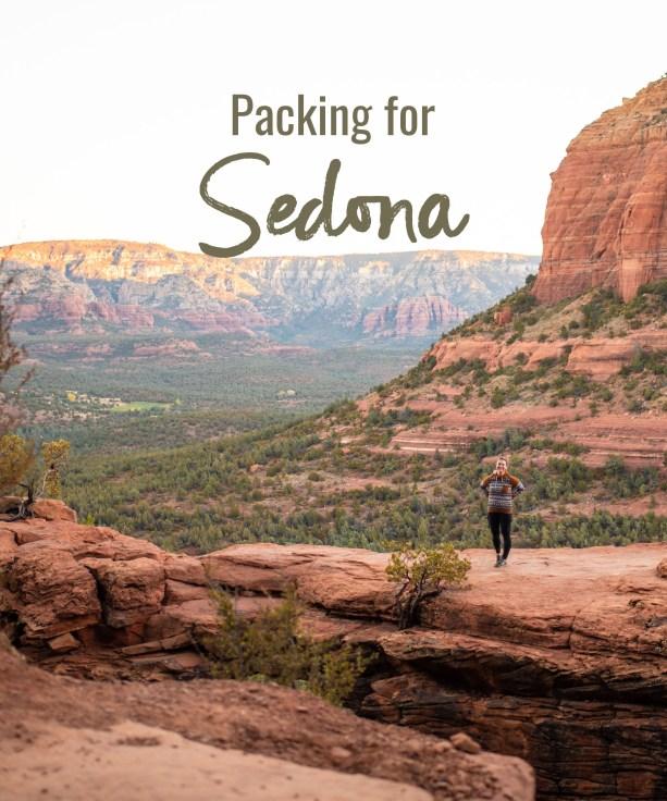 Packing for Sedona