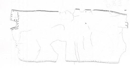 Leather piece from Schleswig-Holstein